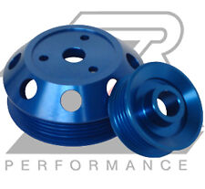 Ralco RZ 914906 Performance Pulleys - Blue fit Mazda RX-8 04-08