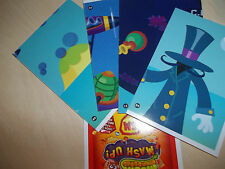 MOSHI MONSTERS MASH UP  series 2  Pick 2 map cards
