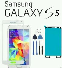 White Samsung Galaxy S5 Replacement front  Glass Digitizer Screen Repair Kit!!