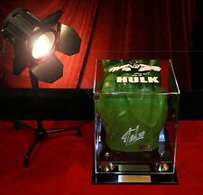 Original Signed STAN LEE Autograph HULK FIST, Marvel, CASE, Light, UACC, COA