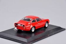Diecast Model Red Abarth Simca 2000 GT-1963 Car Model Kids Collection Vehicles