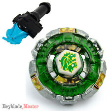 Fusion METAL Beyblade Masters BB106 Fang Leone+BLUE STRING LAUNCHER+GRIP