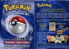Pokemon 2 PLAYER STARTER DECK FACTORY SEALED FREE SHIPPING