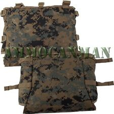 Gen 2 ILBE Removable Radio Pouch with Clips  Previously Issued