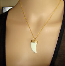 $16 Nordstrom BP Tooth Charm Pendant Necklace Gold-Tone