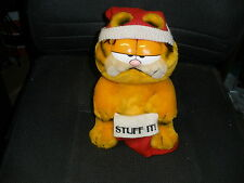 1981 GARFIELD CHRISTMAS PLUSH STUFF IT UFS