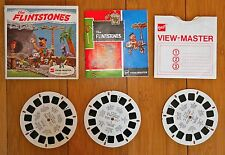 VINTAGE VIEWMASTER REELS THE FLINTSTONES 1962 HANNA BARBERA B514 WITH BOOKLET