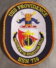 Embroidered Military Patch U S Navy ship Submarine USS Providence SSN-719 NEW