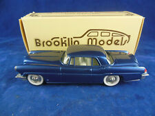 Brooklin Models BRK11 1956 Lincoln Continental Mark II Coupe in Blue Scale 1:43