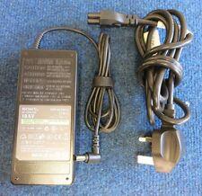 ORIGINALE Sony Vaio vgp-ac19v13 Adattatore di alimentazione CA Caricatore Laptop 90w 19.5v 4.7a