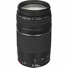 Brand New Canon EF 75-300mm f/4-5.6 III Telephoto Zoom Lens