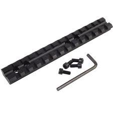 "5.5"" 140mm 13 Slot Weaver Picatinny 20mm Rail Scope Hunting Rifle Gun Mount Base"