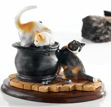Border Fine Arts James Herriot Collection Sooty and Sweep Figurine Cats A20872