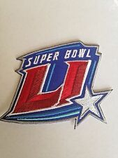 Super Bowl 51 Logo Patch Houston NRG AFC Patriots NFC Falcons Iron On Sew Shirts