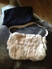 Nicole Farhi RABBIT FUR BAG