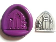Fairy Door Flexible Silicone Mould 30mm Cake Decorating Fimo Fondant Sugarpaste