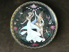 Love Story of Siam, Wedding Dance, Royal Porcelain Thailand Collector Plate