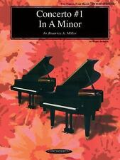 Concerto No. 1 in A Minor for 2 Pianos, 4 Hands (2000, Paperback)