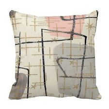 Mid Century Modern Abstract Fabric Cushion Cover Throw Pillow Case Home Decor18""