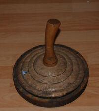 Ebra Eisstock , Holzeisstock Durchmesser 28 cm 4,8 Kg - TOP Zustand