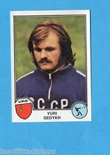 SPORT SUPERSTARS/EURO FOOTBALL 82-PANINI-Figurina n.44- SEDYKH - URSS -Rec
