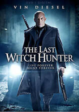 The Last Witch Hunter VIN DIESEL USED VERY GOOD DVD