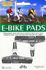 Kool stop V-Brake balatas para e-bike gris-Electric Bike Compound