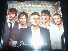 One Republic / Onerepublic Stop And Stare Rare Australian CD Single