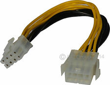 8 Pines 12v Macho A Hembra Atx Eps Power Supply PSU cable de extensión Extensor De Plomo