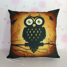 Halloween Pumpkin Square Pillow Cover Cushion Case  Pillowcase Gift LOT