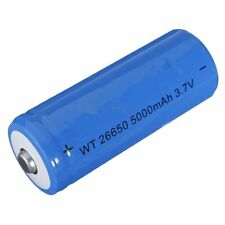 1PCS 5000mAh 3.7V 26650 Li-ion  Rechargeable Battery For LED Flashlight Torch