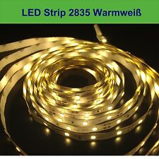 LED Stripes Streifen High Power 2835 warmweiß 5M 300 LEDs IP65 Lichtkette Band
