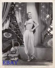Denise Darcel busty sexy VINTAGE Photo Tarzan And The Slave Girl