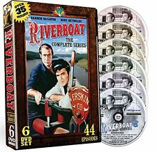 Riverboat Complete Series DVD Set TV Show Collection Episode Season Westerns Lot
