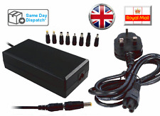 150W 15-24V UNIVERSAL AC  LAPTOP CHARGER  ADAPTER POWER SUPPLY  +8 Tip+ UKCord