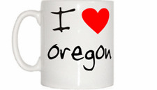 I Love Heart Oregon Mug