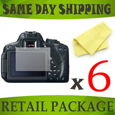 6 x lcd screen display saver for Canon EOS 650D / Rebel T4i - camera accessory