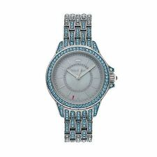 NIB Juicy Couture Women's  Charlotte Crystal Stainless Steel Watch - 1901376