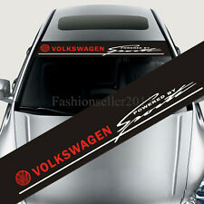 Front Windshield Decal Vinyl Car Stickers for Volkswagen SPORTS Auto Accessories
