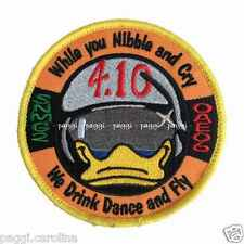 Patch A187 While you Nibble and Cry - we drink dance and fly - 4.10 con velcro