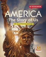 America The Story of Us: An Illustrated History-ExLibrary