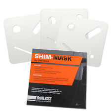 Devilbiss SHIM-MASK Remove Paint Runs Drips Sags Nibs Wet or Dry Sandpaper Auto