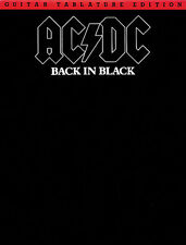 AC/DC Back in Black Sheet Music Guitar Book TAB *NEW*