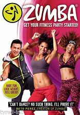 ZUMBA BETO PEREZ DVD Get Your Fitness Party Started Workout NEW SEALED