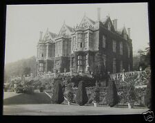 Glass Magic Lantern Slide ELIZABETHAN MANSION BRADFORD ON AVON C1900 WILTSHIRE