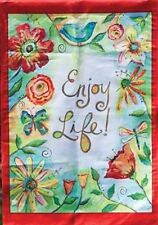 Field of Flowers Decorative Spring Garden Flag by Evergreen