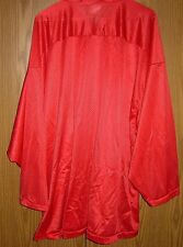 "MESH FOOTBALL JERSEY Adult XXL 54"" Chest, RED Long Sleeve, Dicks Sporting Goods"