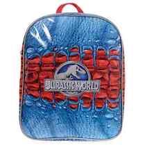JURASSIC WORLD KIDS BACKPACK NEW GIFT SCHOOL BAG RUCKSACK JURASSIC PARK
