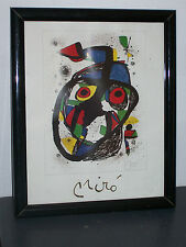 reproduction signée Miro. reproduction signed Miro