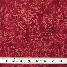 BALI BATIK - PORT WINE ORGANIC - TDO702K.21 - Quilting Fabric by the ½ metre